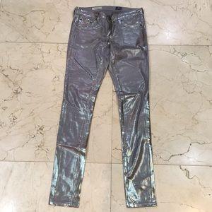 AG Metallic Jeans